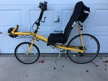 Recumbent Bicycle, Thunderbolt 21 Speed in Cherry Point, North Carolina