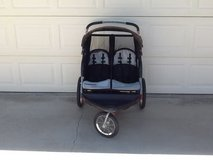 Double jogging stroller in 29 Palms, California
