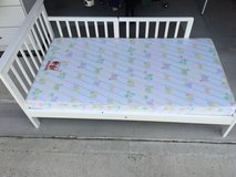 Dog Repurposed Bed- Toddler Bed - New Mattress in Houston, Texas