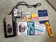 Vintage Argus camera and accessories in Westmont, Illinois