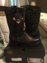 NWTS HARLEY DAVIDSON WOMEN'S RIDING BOOTS in Houston, Texas