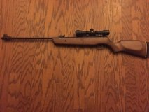 Gamo Hunter 440 with BSA Airgun Scope 4x 32mm Adjustable Objective Duplex Reticle Matte with Rin... in Beaufort, South Carolina