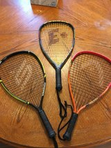 Racquetball Racquets (lot of three) almost new in Camp Lejeune, North Carolina