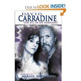 DAVID CARRADINE THE EYE OF MY TORNADO/HARD COVER BOOK in Sacramento, California