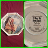 Collectible plates in DeRidder, Louisiana