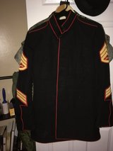 Dress Blues Blouse in Camp Pendleton, California