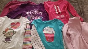 6 ....4T - Toddler girl long sleeve shirts in 29 Palms, California