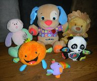 Fisher-Price Laugh & Learn Puppy Dog Baby Einstein Crib Toy Lot + Panda / Lion / Musical Plush in Kingwood, Texas