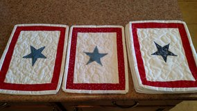 Blue Star quilt squares in Alamogordo, New Mexico