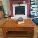 *Reduced* Solid Wood Coffee Table in Fairfield, California
