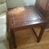 *Reduced* Solid Wood End Tables in Fairfield, California