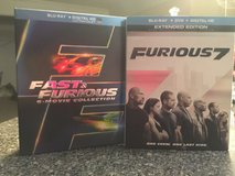 Fast & Furious Bluray Collection in Perry, Georgia