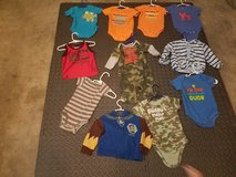 #3 Boys 12 month clothes in Leesville, Louisiana