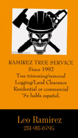 **RAMIREZ TREE SERVICE** in Kingwood, Texas
