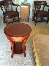 Side table with accents in Aurora, Illinois