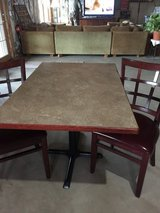 Rectangular table and 2chairs in Westmont, Illinois
