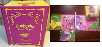 Little Tikes Cinderella & Glass Slipper Fairytale Playset PlayHouse in Lockport, Illinois