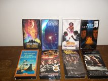 8 VHS Movies in Clarksville, Tennessee