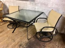 Patio Table with 2 Chairs in Camp Lejeune, North Carolina