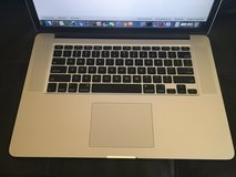 MacBook Pro Retina 15.4 inch Display with up to 3.2 GHz i7 Processor, 8 GB RAM, 256 GB SSD in Ramstein, Germany