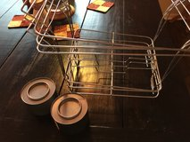 3 chafing dish frames with 2 cans fuel in Fort Bragg, North Carolina