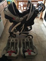 Graco Infant Carrier & Stroller Combo + 2 Car Bases in Joliet, Illinois
