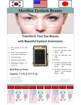 Eyelash extension one by one 50% off now in Norfolk, Virginia