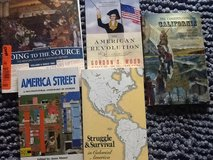 American History Book Lot in Ramstein, Germany