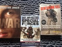 Military Themed Book Lot in Ramstein, Germany