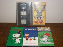 5 Kids Cartoon VHS Movies in Fort Campbell, Kentucky