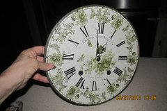 Elegant 12-Inch Ivy-Themed Wall Clock in Houston, Texas