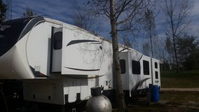 2014 Forest River Sandpiper 365SAQB Fifth Wheel in Fort Leonard Wood, Missouri