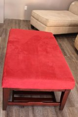 Red Coffee Table in Kingwood, Texas