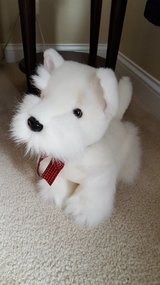 Westie White Dog Stuffed Animal in Bartlett, Illinois