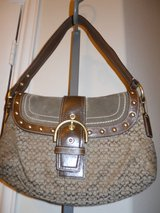 Coach Purse Brown Signature in Baytown, Texas