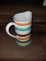 Orange / Blue Striped Pouring Pitcher in Fort Campbell, Kentucky