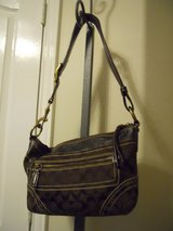 Coach Signature Purse. Brown in Baytown, Texas