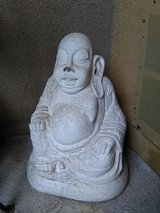 Concrete Buddha statue in bookoo, US