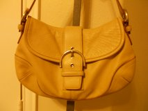 Coach Leather Purse. Sand in Kingwood, Texas