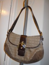 Coach Brown Signature purse in Baytown, Texas
