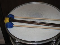 snare drum and sticks in Glendale Heights, Illinois