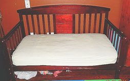 Toddler bed w/ mattress in Elgin, Illinois