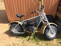 CUSTOM MADE MINI BIKE CHOPPER STYLE FAT BOY TIRES in Yucca Valley, California