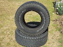 Goodyear Wrangler LT 265/75 R 16  Pair of tires awesome thread on these in Camp Lejeune, North Carolina