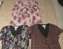 Ladies Size Medium Pull over Dress Blouses $3.00 each Pick and Choose or Buy them all in Perry, Georgia