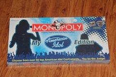 Brand new American Idol Monopoly in Okinawa, Japan