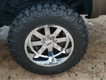 37/22.5/20 nitto trail grappler tires 20x12 moto metal in Fort Polk, Louisiana