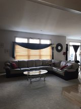 leather sectional in DeKalb, Illinois