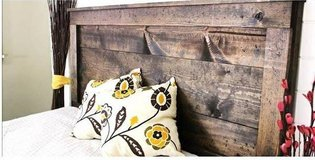 Rustic Queen Headboard in Olympia, Washington