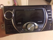 JVC CD/MP3 double din head unit in Oceanside, California